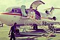"N121FE Federal Express Boeing 727-25C (cn 19357-360) ""Justin"". (4208282298).jpg"