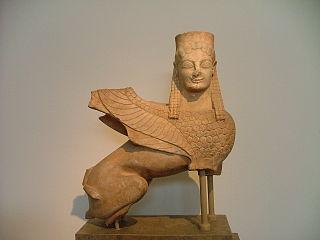 Statue of a Sphinx (NAMA 28)