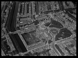 Paleis voor Volksvlijt - Paleis voor Volksvlijt aerial view, before the fire of 1929.
