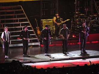New Kids on the Block - New Kids on the Block in concert, November 2008