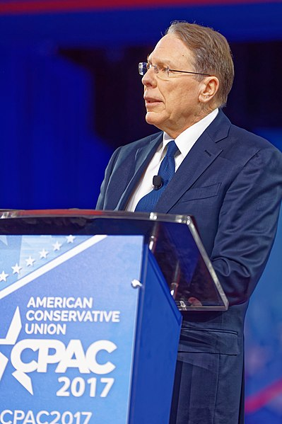 File:NRA Wayne LaPierre at CPAC 2017 on February 24th 2017 by Michael Vadon 12.jpg