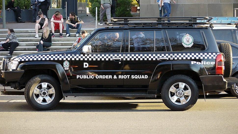 NSW Police Force Public Order And Riot Squad Nissan Patrol 'Delta' - Flickr - Highway Patrol Images