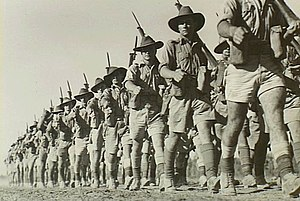 Northern Territory Force - Australian infantry at Darwin in August 1942