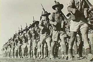 Northern Territory Force 1942-46 formation of the Australian Army