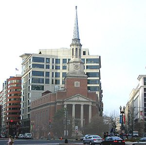 New York Avenue Presbyterian Church - The New York Avenue Presbyterian Church today