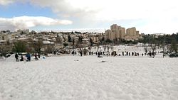 Nachlaot and Kiryat Wolfson under the snow -2015.jpg