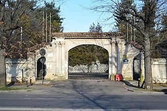 Nae Ionescu - The entrance of Nae Ionescu's villa in Băneasa