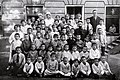 Naemah Beer-Hofmann with pogrom orphans at the Anitta Mueller Heim in Vienna, Austria (4923931562).jpg