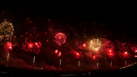 File:Nagaoka Festival Fireworks 2017 Phoenix 20170803 (No audio version).webm