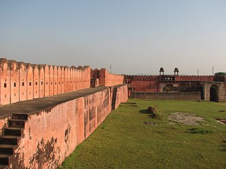 Nagpur kingdom - An inside view of the Nagardhan Fort in Nagpur district, commissioned by Raghoji Bhonsale.