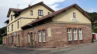 Nagold - Train station