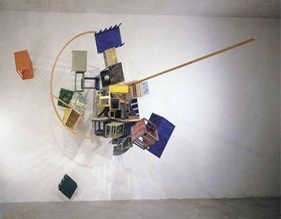 Nahum Tevet, Jemmáin, 1986, Coll. Kunsthalle, Manheim