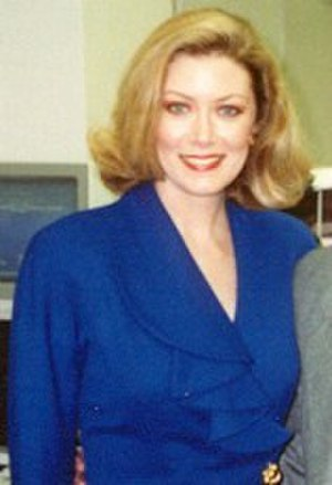 Nancy Stafford - Stafford in 1990.