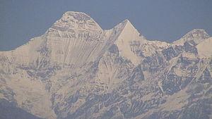 Rudranath - View of Nanda Devi
