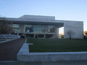 National Constitution Center - Main entrance