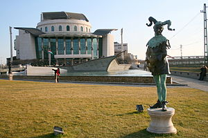 National Theatre (Budapest) - Image: National Theatre, Budapest