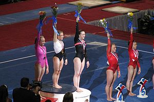 Shawn Johnson East - Johnson winning 2008 US National title