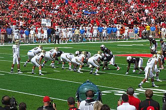 2013 Nebraska Cornhuskers football team - Image: Nebraska UCLA Football 2013