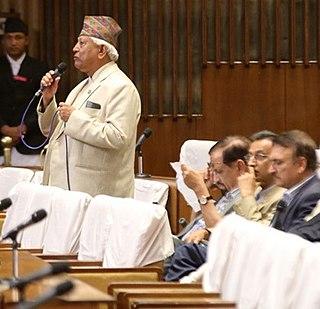 Arjun Narasingha K.C. Member of Nepali Congress