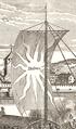 Neptun (Schiff, 1693) Detailvergroesserung Segel Mittschiffs bis Flaggentop.png