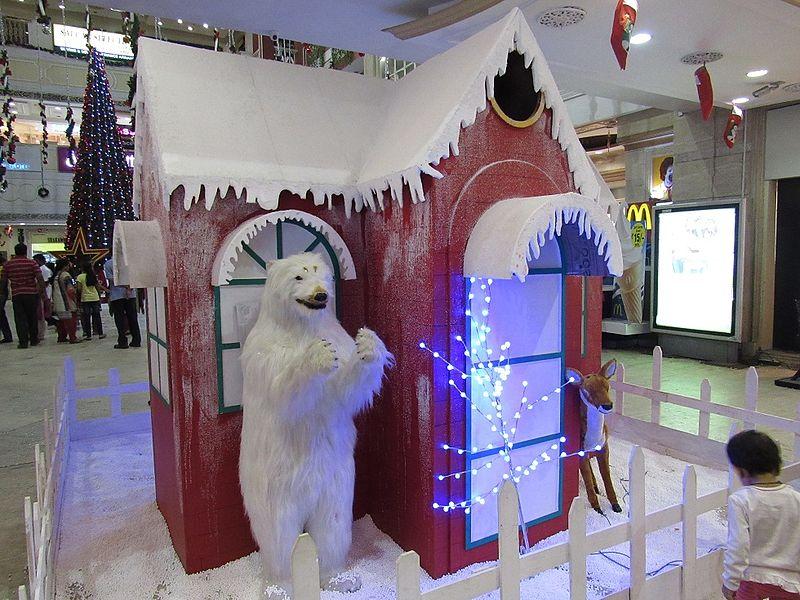 File:New-year-christmas-decorations-at-city-center-mylapore-chennai.jpg