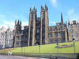 New College, Edinburgh Theology graduate school in Edinburgh, UK