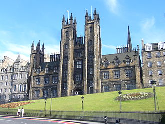 New College, Edinburgh - Image: New College on the Mound, Edinburgh