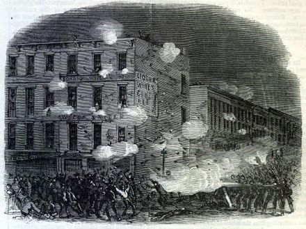 New York City draft riots New York Draft Riots - Harpers - clash.jpg