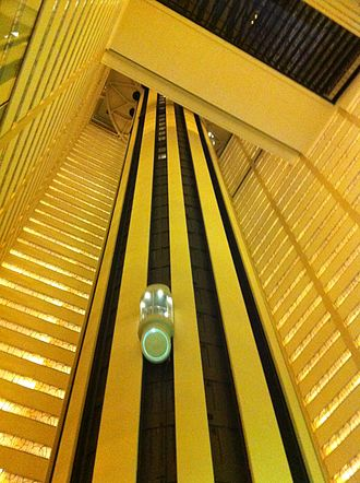 New York Marriott Marquis - Image: New York Marriott Marquis