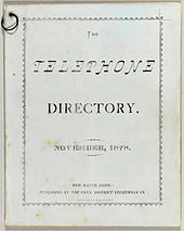 Telephone directory - Wikipedia