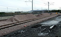New tram line at Edinburgh Airport (geograph 3229215).jpg