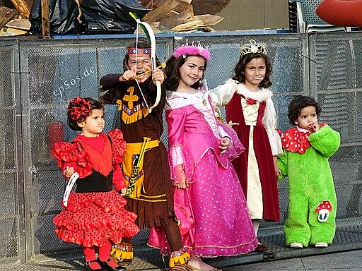 Niños carnaval lpgc 2009