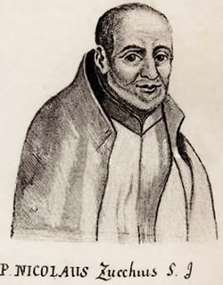 Niccolò Zucchi Itlain Jesuit astronomer and physicist