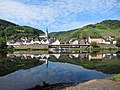 Nice reflections at Briedel at the Mosel river at 24 August 2015 - panoramio.jpg