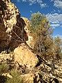 Nicholson Wild River Outcrop.JPG