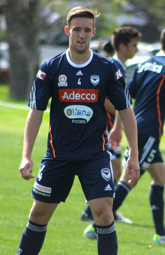 Nick Ansell - Ansell with Melbourne Victory in 2013.
