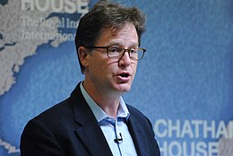 Nick Clegg, Europe Spokesperson, Liberal Democrats (2016-17); Deputy Prime Minister of the United Kingdom (2010-15); Leader, Liberal Democrats (2007-15) (35834379946).jpg