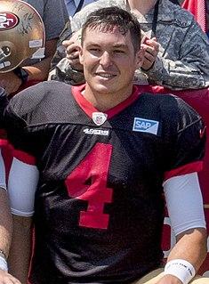 Nick Mullens American football quarterback
