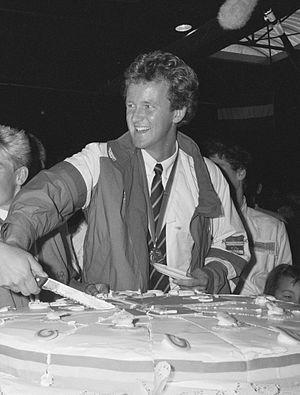 Nico Rienks - Rienks in 1988