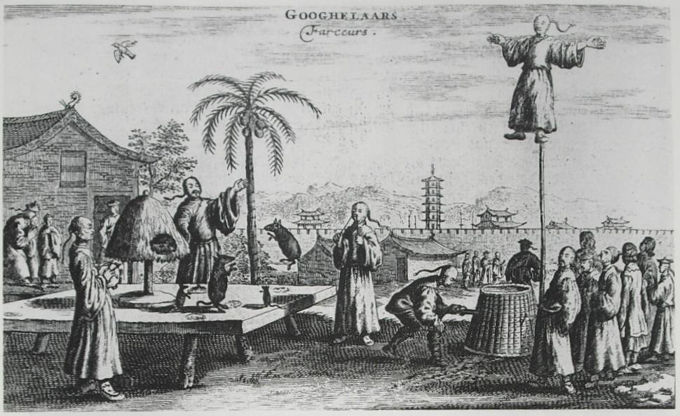 Nieuhof-p-263-Googhelaars-Lach-van-Kley-plate-364
