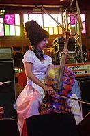 Nina Garenetska (DakhaBrakha) (Haldern Pop 2013) IMGP6680 smial wp.jpg