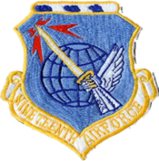 Nineteenth Air Force - 1960s patch