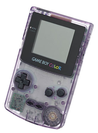 Game Boy Color - An Atomic Purple version of the Game Boy Color