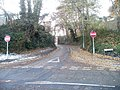 No entry to Station Road, Radyr, Cardiff - geograph.org.uk - 2179952.jpg