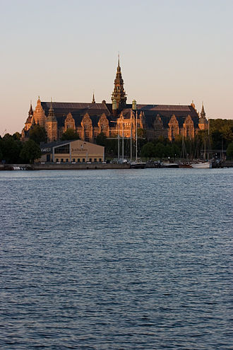 Nordic Museum - The museum building.