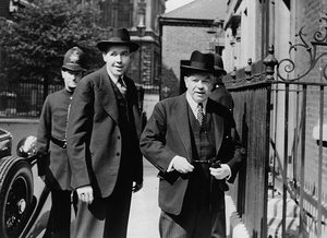Norman Robertson - Norman Robertson and Mackenzie King, 1944