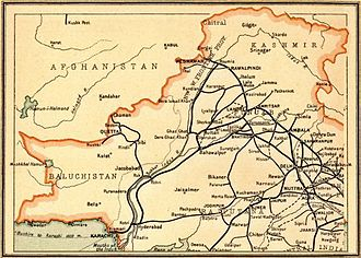 History of rail transport in Pakistan - Image: North Western Railway