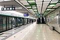 Northbound platform of Yuzhilu Station (20210302171816).jpg