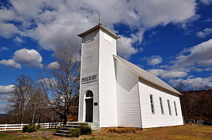 Grundy County, Tennessee - Northcutt's Cove Chapel near Altamont