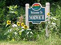 Norwich neighborhood sign in Roanoke, Virginia.jpg